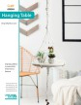 Hang around for awhile and start on your next Macrame project with this table craft guide! Designed by Diana Cates.