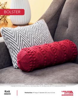 Knit a beautiful project: Bolster ePattern!