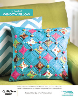 Try projects that are Pre-Cuts with Cathedral Window Pillow!