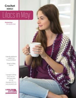 Lilacs in May features a beautiful and colorful project!