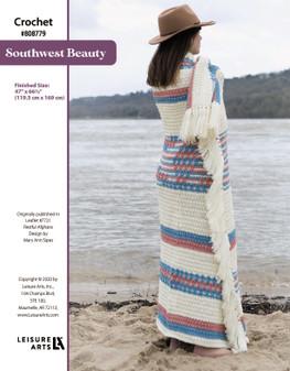 Southwest Beauty ePattern, originally published in Leaflet #7721 Restful Afghans, design by Mary Ann Sipes.
