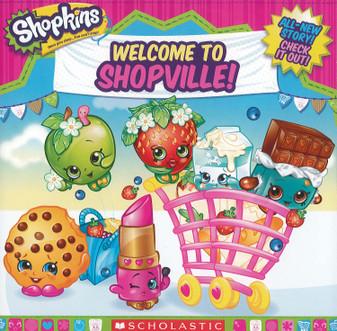 Scholastic Shopkins Welcome To Shopville Book