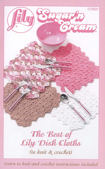 Lily Sugar'n Cream The Best Of Lily Dish Cloths Book