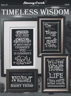 Stoney Creek Timeless Wisdom Cross Stitch Book