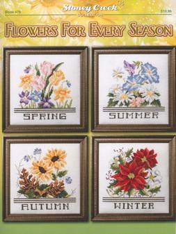 Stoney Creek Flowers For Every Season Cross Stitch Book