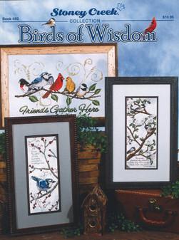 Stoney Creek Birds of Wisdom Cross Stitch Book