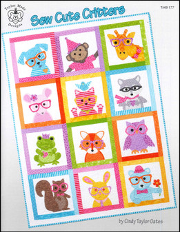 Taylor Made Sew Cute Critters Book
