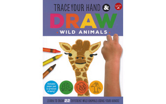 Walter Foster Jr Trace You Hand & Draw Wild Animals Book