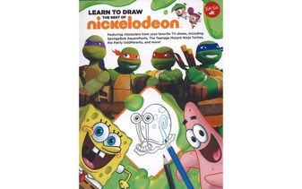 Walter Foster Jr Learn To Draw The Best of Nickelodeon Book