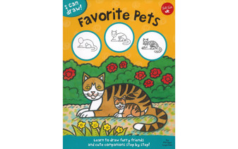 Walter Foster Jr I Can Draw Favorite Pets Book