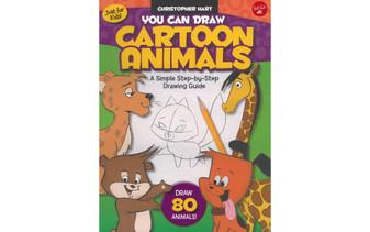 Walter Foster Jr You Can Draw Cartoon Animals Book
