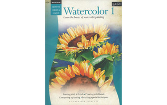 Walter Foster How to Draw & Paint Watercolor 1 Book