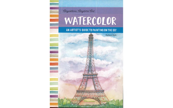 Walter Foster Anywhere Anytime Art Watercolor Book