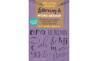 Walter Foster The Little Book of Lettering & Word Design Book