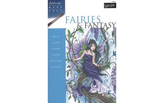 Walter Foster Watercolor Made Easy Fairies & Fantasy Book
