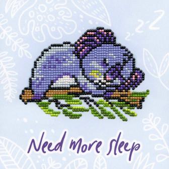 """Diamond Art Kit 8""""x 8"""" Beginner Koala Sleep"""