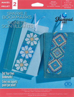 Diamond Art Kit Sparkle Bookmarks