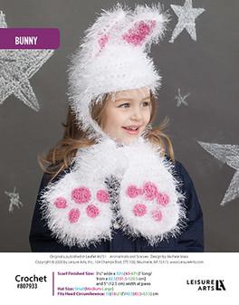 ePattern Bunny Crochet Hat