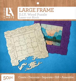 Leisure Arts Wood Puzzle Large Frame