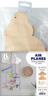 Leisure Arts Wood Mobile Airplane