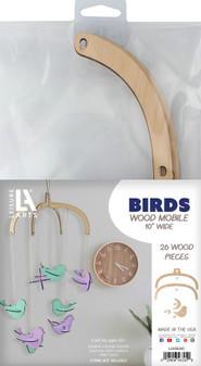 Leisure Arts Wood Mobile Birds