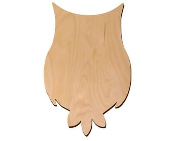 Leisure Arts Wood Shape Flat Owl