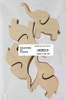 Essentials By Leisure Arts Wood Shape Flat Elephant