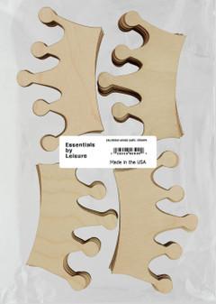 Leisure Arts Wood Shape Flat Crown