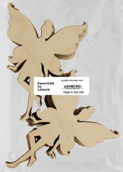 Leisure Arts Wood Shape Flat Fairy