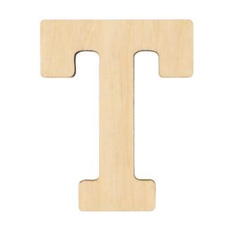 "Essentials By Leisure Arts Wood Letter 1.75"" Birch T"