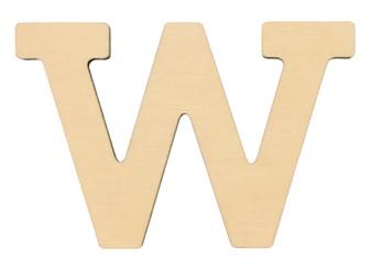 """Essentials By Leisure Arts Wood Letter 1.75"""" Birch W"""
