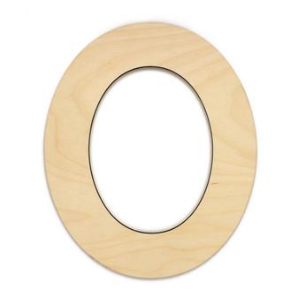 """Essentials By Leisure Arts Wood Letter 9.5"""" Birch No 0"""