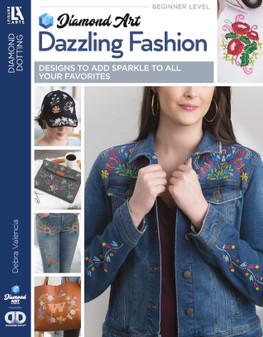 Diamond Art By Leisure Arts Freestyle Dazzling Fashion Book