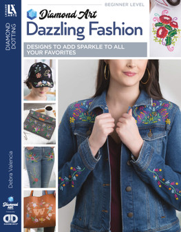 eBook Diamond Art By Leisure Arts Freestyle Dazzling Fashion