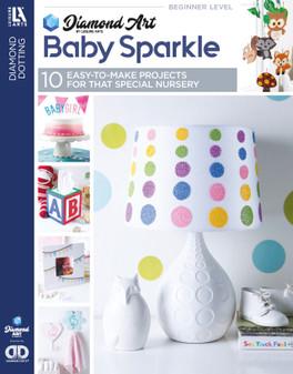 eBook Diamond Art By Leisure Arts Freestyle Diamond Dotting Baby Sparkle