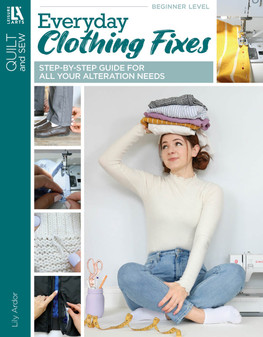 eBook Everyday Clothing Fixes - Step-by-Step Guide for All Your Alteration Needs
