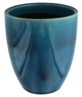 Leisure Arts Ceramic Vase Pot Blue