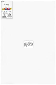 "Essentials By Leisure Arts Foam Sheet 12""x 18"" 3mm White 15pc"