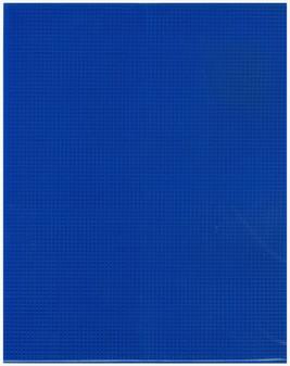"""Essentials By Leisure Arts Plastic Canvas 7ct 10.63""""x 13.5"""" Dark Blue 6pc"""