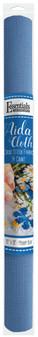 """Essentials By Leisure Arts Aida Cloth 14ct 15""""x 18"""" Medium Blue"""
