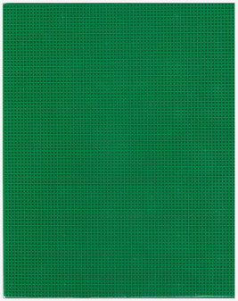 """Essentials By Leisure Arts Plastic Canvas 7ct 10.63""""x 13.5"""" Kelly Green 6pc"""