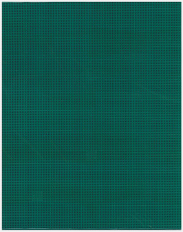 """Essentials By Leisure Arts Plastic Canvas 7ct 10.63""""x 13.5"""" Forest Green 6pc"""