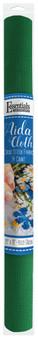 """Essentials By Leisure Arts Aida Cloth 14ct 15x 18"""" Kelly Green"""