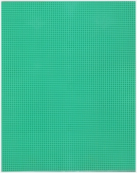 """Essentials By Leisure Arts Plastic Canvas 7ct 10.63""""x 13.5"""" Light Green 6pc"""