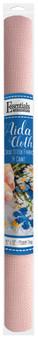 "Essentials By Leisure Arts Aida Cloth 14ct 15x 18"" Medium Pink"