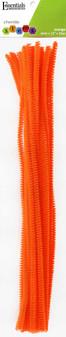 """Essentials By Leisure Arts Chenille 12"""" Stem 6mm Orange 25pc"""