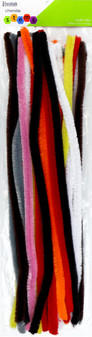 Essentials By Leisure Arts Chenille 19.7' Stem 15mm Assorted 40pc