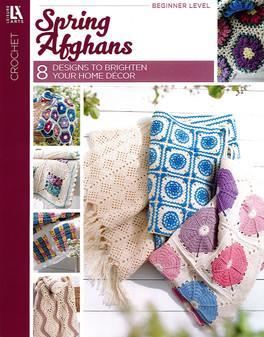 Leisure Arts Spring Afghans Book
