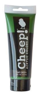 Cheep! Acrylic Paint 4oz Tube Sap Green