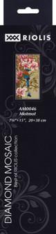 "Riolis Diamond Mosaic Kit 7.75""x 15"" Motmot"